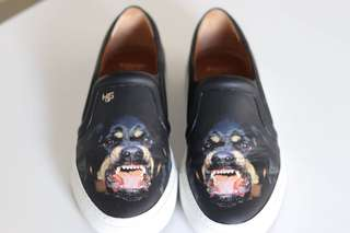 Givenchy Rottweiler Print Skate Sneakers
