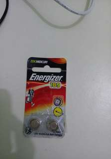 Brand New Energizer 189