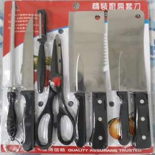 精裝廚房套刀8件組