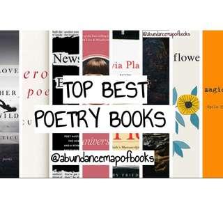(ebook) TOP BEST POETRY BOOKS HERE