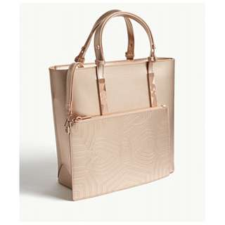 Ted Baker Jaceyy leather shopper bag