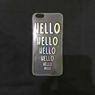 Hello Inceptions Case for Iphone 6+/6s+