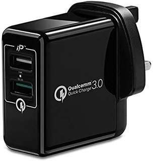 Spigen Essential Quick Charge 3.0 Wall Charger!!