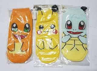 Pokemon Socks (All 3)