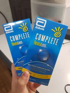 Sealed Complete RevitaLens Multi Purpose Disinfecting Solution