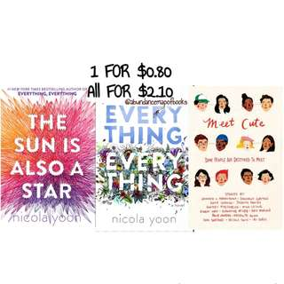 (ebook) Nicola Yoon Books
