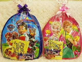 Goodie bag, goody bag, cartoon bags