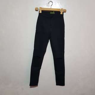 Black High Waisted Jamie Jeans