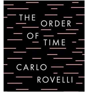 (ebook) The Order of Time by Carlo Rovelli