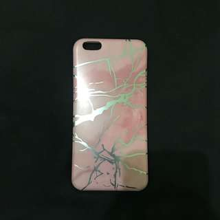 Pink Marble Holo Case for Iphone 6+/6s+