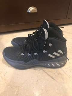 Authentic Adidas Crazy Explosive 2017 size 9 1/2 us