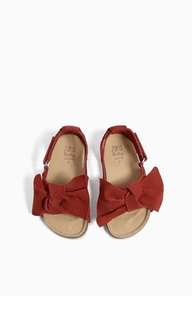 Authentic ZARA Baby leather sandal