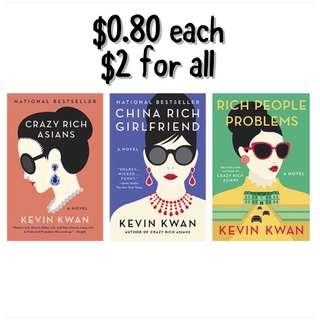 (ebook) Kevin Kwan books