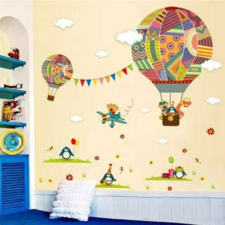 Hot Air Balloon wall sticker