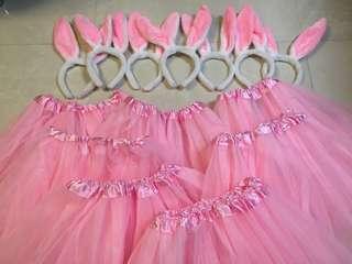 兔耳朵 芭蕾舞裙 玩新郎 玩遊戲 《婚後物資》