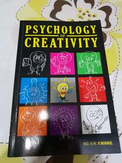 Psychology of Creativity - Ng Aik Kwang