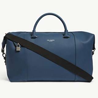 TED BAKER Newmex rubber-look holdall