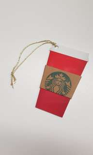 🚚 Starbucks cup shaped card