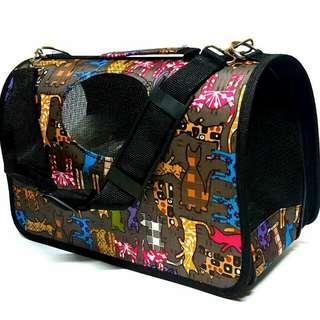 PET Foldable Pet Carrier Bag Cage ( Large )