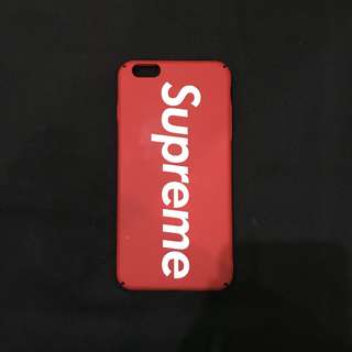 Supreme Red Case for Iphone 6+/6s+