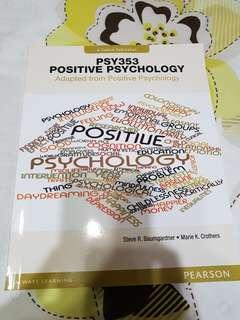 PSY353 - Positive Psychology
