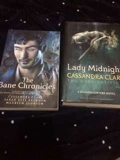 YA Books (The Bane Chronicles & Lady Midnight)