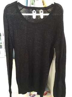 Hnm charcoal knitwear
