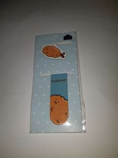 [Wts] Cute cartoon magnetic bookmark
