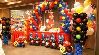 Cars Theme Balloon Decors & Photobooth