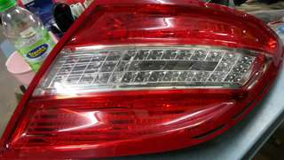Mercedes w204 tail lamp 2pc 1price