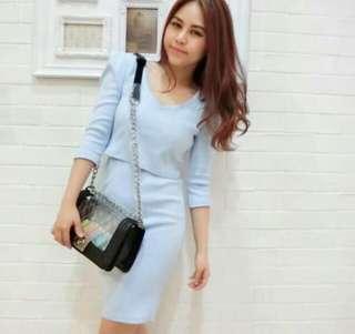 Korean set top & skirt