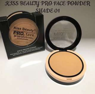 🚚 💕Kiss Beauty Face HD Denfinition Matte Presses Powder💕