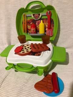 Kitchen Toy 3 sets -BBQ,Pizza,Grocery- TAKE ALL