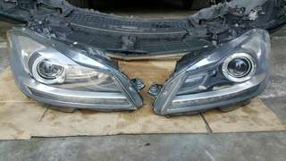 Mercedes w204 taiwan facelift headlamp 2pc 1price