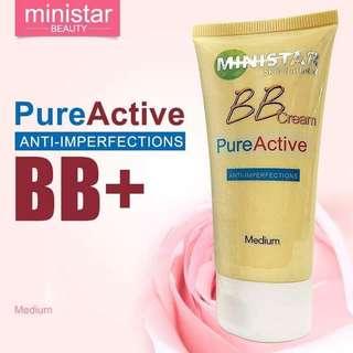 Ministar pure active 5in1 moistureizer anti imperfection bb cream