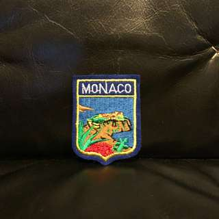 Monaco Embroidery Patch