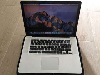 MacBook Pro(15-inch,Early 2011)core i7-8GB-256GB SSD-90%新