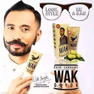 (INSTOCK AVAIL) Authentic 100% Authentic Wak Doyok Hair & Beard Products PO