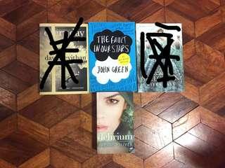 BUNDLE YA PRE-LOVED BOOKS