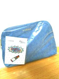 🚚 Laneige denim pouch with free patch