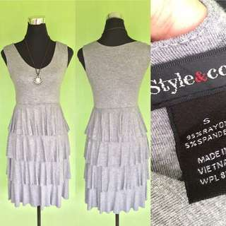 Gray Layer Dress
