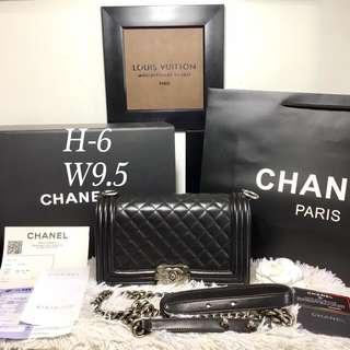 Chanel Le' boy Authentic Bag Complete Inclusions