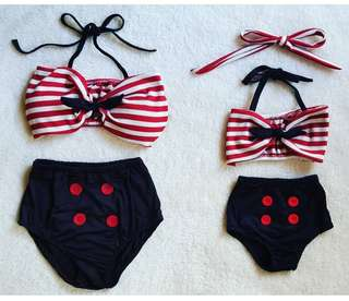 Twinning Two-piece Swimsuits