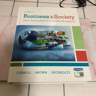 Business & Society ( BGS textbook)