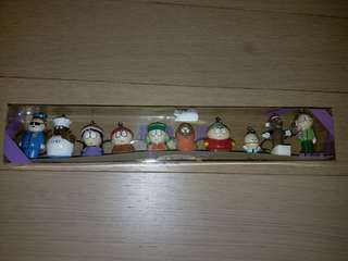 South Park keychains set 鎖匙扣套裝