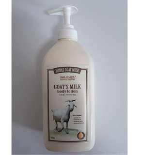 Korean Goat Milk Body Lotion by Natural Chapter Lohas 500g $7