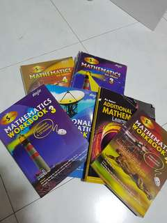 O LEVEL BIOLOGY, CHEMISTRY, ADDITIONAL MATH TEXTBOOKS, WORKBOOKS, GUIDEBOOKS, TYS