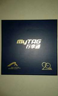 HK International Airport 20th Anniversary - brand-new 行李通 MyTag (皮質)