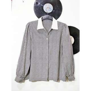 Vintage Houndstooth Shirt