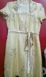 Dress / Gaun Pesta GOLD